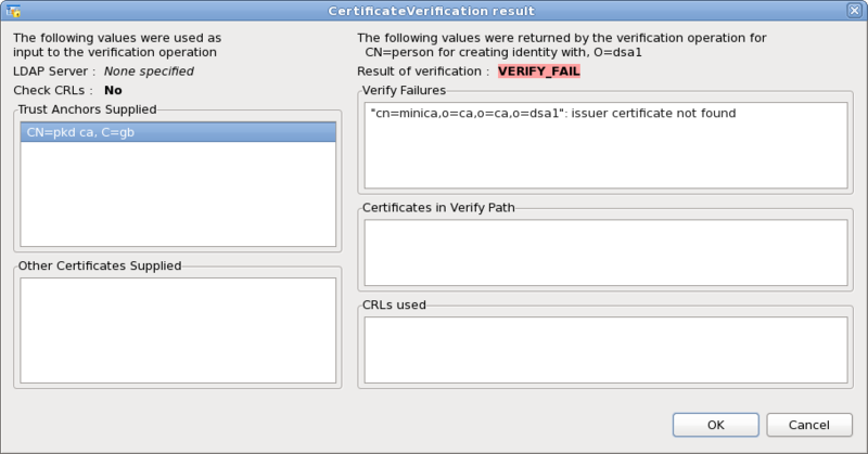 Screenshot-CertificateVerification result